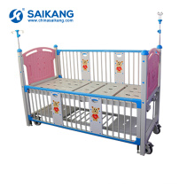 X05-5 Manual Cartoon Children Hospital Bed For Sale
