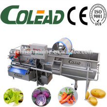 stainless steel vegetable washing machine/vegetable processing machine/vegetable cutting machine from Colead