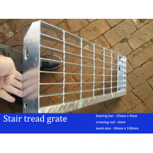 High Quality Galvanized Stair Treads Grate