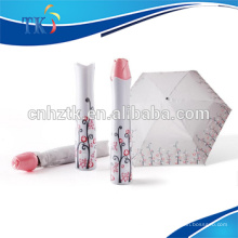 rosa dobrado guarda-chuva sombra criativa rosa vaso guarda-chuva