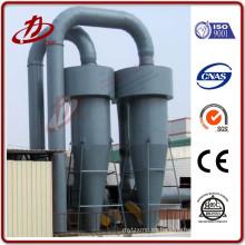 Separador de ciclones flexible de rendimiento máximo como filtro preliminar