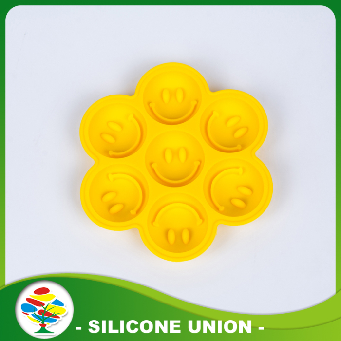 Smiling Face Shape Silicone Cake Mould