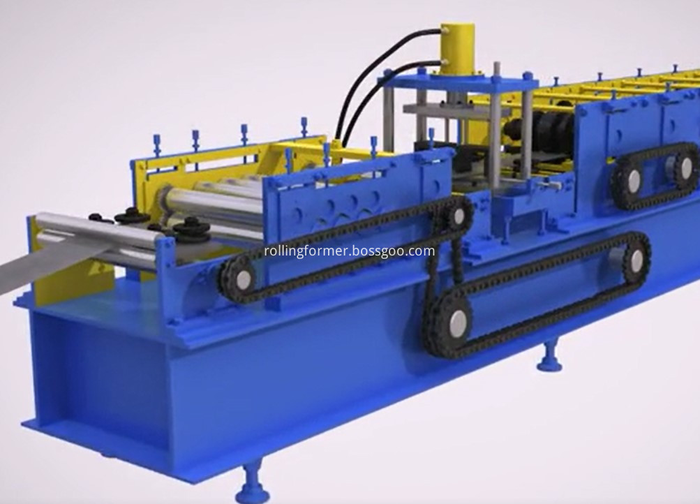 41x21 Strut roll forming machine