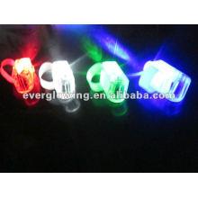Juguete de luz LED dedo