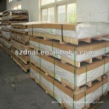 Feuille / plaque d'aluminium h24 haute qualité 3003 pour la construction