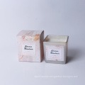 220g paraffin/soy wax scetned candle in glass cup in box home decor