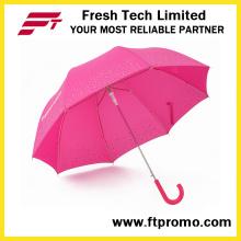 Apolo Auto Open Straight Umbrella para impressão