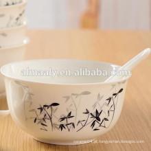 Tigela de macarrão de cerâmica de China