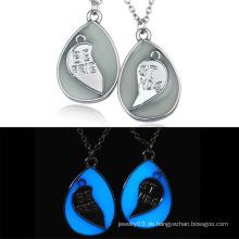 Afrikanische populäre leuchtende Steinhalsketten-Liebes-hängende Ketten-Halsketten