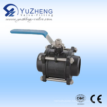 Carbon Steel 3PC Socket Welded Ball Valve