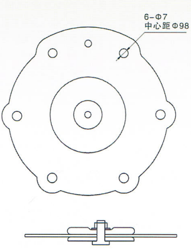 Drawing for Dust Valve