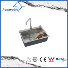 China Supplier Single Bowl Kitchen Sink (ACS6848A1)