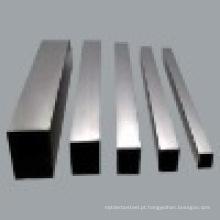 201 Grau Tubo de aço inoxidável (tubo quadrado)