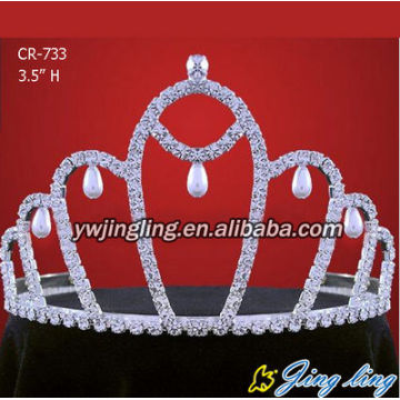 Cheap wholesale pageant crown wedding accessories tiara