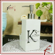 China Factory Ceramic Porcelain Bath Product Soap Dispenser