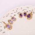 62107-Xuping Alibaba USA Style Jewelry Set Charms 18K Gold Jewelry
