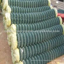 PVC recubierto cadena cerca valla 2.4mm