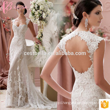China GuangZhou Supply Elegant Ivory Sweetheart Beach casual Mermaid Wedding Dress Patterns 2017