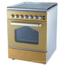 Neuer Entwurf 4 Brenner freier stehender Gas-Kocher Ofen