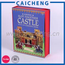 El libro más nuevo 2017 formó cajas impresión al por mayor del libro a pedido