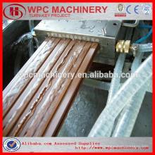 Recycler le plastique + bois (cajou / paille / bois) plastique (PP / PE / PVC) wpc composite ligne de production wpc machine