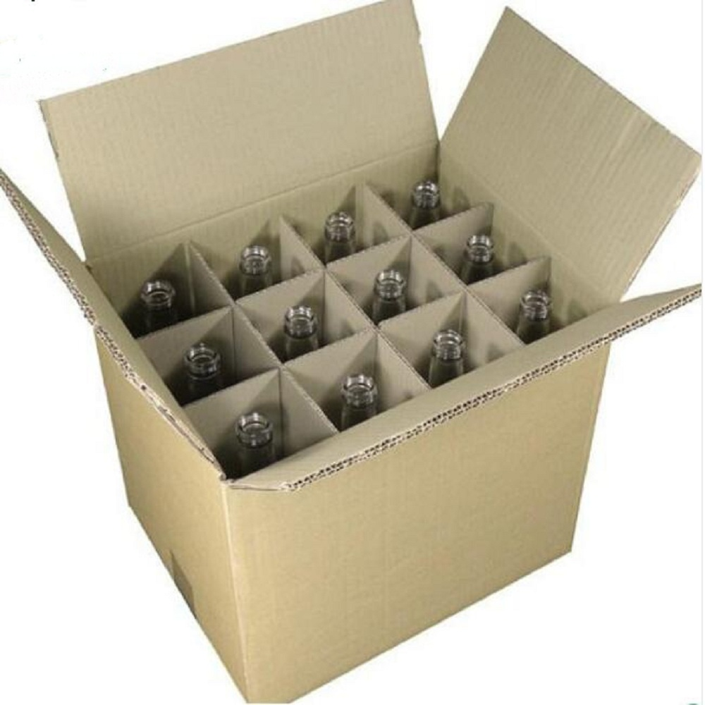12 Bottles Paper Packaging Cartons -JX