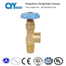 Soupape à cylindre d'azote médical haute pression