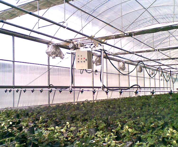 Control and Sparyer for Greenhouse