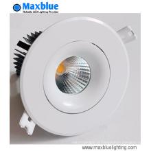 15W 4 polegadas rodada CREE COB LED teto iluminação (buraco 90 mm)