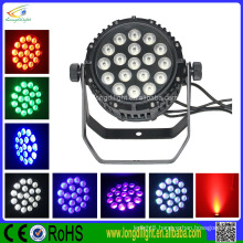waterproof 18pcs10w rgbwa uv 6in1 led par light