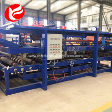 Rock wool roof eps sandwich wall panel roll forming machine