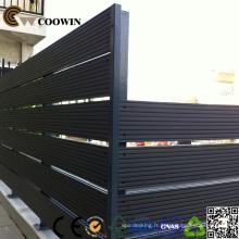 Clôture en bois composite imperméable 140X13mm