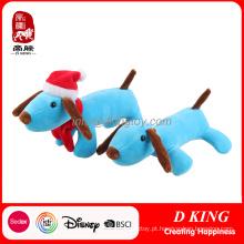 Peluche macio do cão de brinquedo brinca o bicho de pelúcia