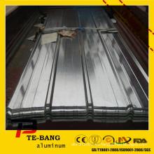 Hoja de aluminio ranurada de alta calidad