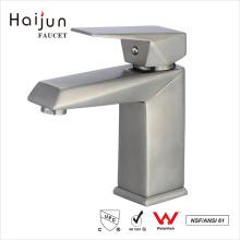 Haijun 2017 New Arrival Single Hole Thermostatic Basin Sink Brass Faucet