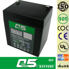 12V4AH, Can customize 3AH, 3.5AH, 4AH, 4.5AH, 5.0AH; Storage Power Battery; Rechargeable Maintenance Free Lead-Acid Battery