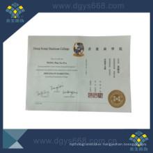 Dongguan Security Printer Watermark Hot Stamping Security Paper
