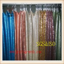 Cortina decorativa de moda de la malla / del acoplamiento de metal de Anping