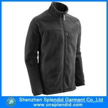 Großhandels Produkt Herren Schwarz Polar Fleece Jacke