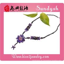 Classel Desigh joyería hecha a mano de la flor de piedra