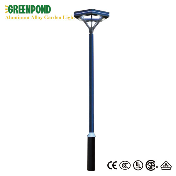 Triangle Shaped Aluminum Alloy LED Garden Lamp