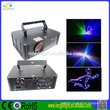 laser christmas lights SD card mini full-color animation laser light