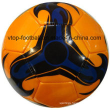 Four Color PVC Machine Stitched Football