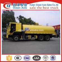 20000Liter 6x4 HOWO camiones cisternas para la venta