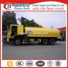 20000Liter 6x4 HOWO water trucks for sale