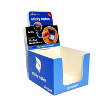 Advertising Counter Cardboard Display Stand, Paper Store Display