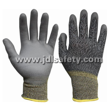 White/Grey Work Glove with PU Dipping (PN8109)