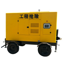 Zbcy Silenced Diesel Engine Trash Groundwater Pump