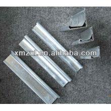 Bride de conduit TDC pour gaine rectangulaire métal
