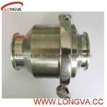 Wenzhou sanitaria de acero inoxidable de la válvula de no retorno
